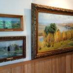 Пейзажи в красках в музее В. Д. Поленова