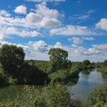 Река Протва в Дракино