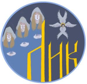 Эмблема певческо-регентских курсов «Лик» Серпуховского благочиния