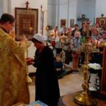 На престольном празднике Спасского храма 29 августа 2017