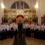 """20 мая 2018 года, в Спасском храме состоялся выпускной экзамен певческо-регентских курсов """"Лик"""" Серпуховского благочиния."""