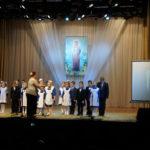 Младший хор Православной гимназии во имя преподобного Варлаама Серпуховского при Владычнем женском монастыре.