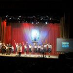 Выступление школы Ильинского храма.