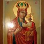 Черниговская икона Богородицы, написанная для Спасского храма г. Серпухова